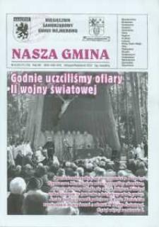 Nasza Gmina. Miesięcznik Samorządowy Gminy Wejherowo, 2010, wrzesień/październik, Nr 9/10 (171/172)