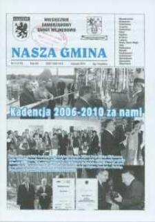 Nasza Gmina. Miesięcznik Samorządowy Gminy Wejherowo, 2010, listopad, Nr 11 (173)