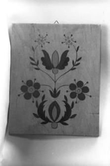 Wzór haftu na sklejce - Wejherowo
