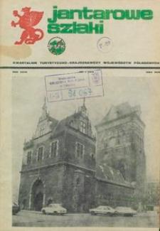 Jantarowe Szlaki, 1984, nr 1
