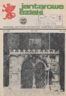 Jantarowe Szlaki, 1985, nr 1