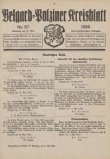 Belgard-Polziner Kreisblatt, 1929, Nr 37