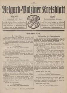 Belgard-Polziner Kreisblatt, 1929, Nr 44