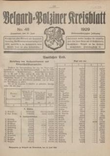 Belgard-Polziner Kreisblatt, 1929, Nr 48