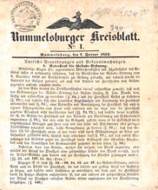 Rummelsburger Kreisblatt 1852