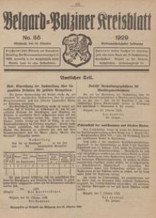 Belgard-Polziner Kreisblatt, 1929, Nr 85