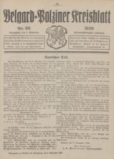 Belgard-Polziner Kreisblatt, 1929, Nr 88