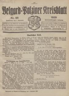 Belgard-Polziner Kreisblatt, 1929, Nr 96