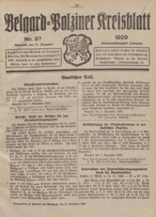 Belgard-Polziner Kreisblatt, 1929, Nr 97