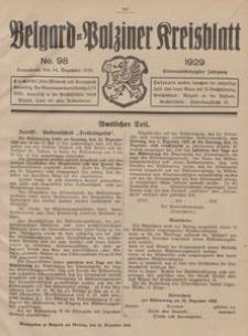 Belgard-Polziner Kreisblatt, 1929, Nr 98