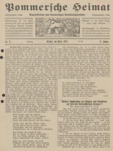 Pommersche Heimat. Monatsbeilage zum Pommerschen Genossenschaftsblatt Nr. 3/1917