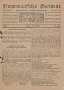 Pommersche Heimat. Monatsbeilage zum Pommerschen Genossenschaftsblatt Nr. 11/1917