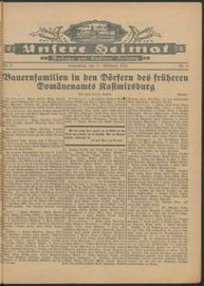 Unsere Heimat. Beilage zur Kösliner Zeitung Nr. 9/1934