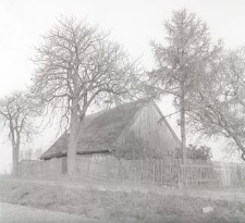 Chałupa konstrukcji zrębowej - Trzebiechowo