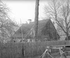 Chałupa konstrukcji zrębowej - Dębia Góra