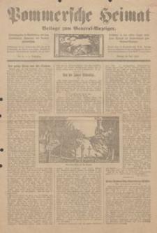 Pommersche Heimat. Beilage zum General-Anzeiger Nr. 4/1912