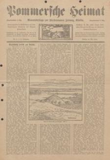 Pommersche Heimat. Monatsbeilage zur Fürstentumer Zeitung, Köslin Nr. 5/1913