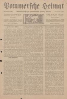 Pommersche Heimat. Monatsbeilage zur Fürstentumer Zeitung, Köslin Nr. 6/1913