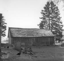 Stodoła szkieletowa (XVIII w.) w zagrodzie gburskiej - Załakowo
