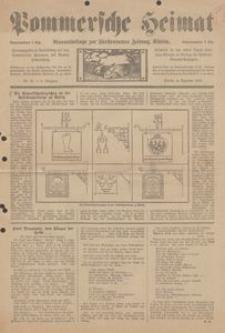 Pommersche Heimat. Monatsbeilage zur Fürstentumer Zeitung, Köslin Nr. 12/1913