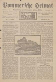 Pommersche Heimat. Monatsbeilage zur Fürstentumer Zeitung, Köslin Nr. 3/1914