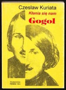 Kłania się nam Gogol : wiersze