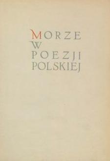 Morze w poezji polskiej