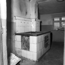 Kuchnia w dworku o konstrukcji zrębowej - Czarna Dąbrowa