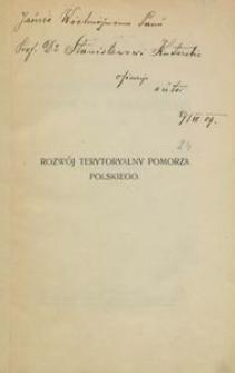 Rozwój terytorialny Pomorza polskiego (wiek XI-XIII)