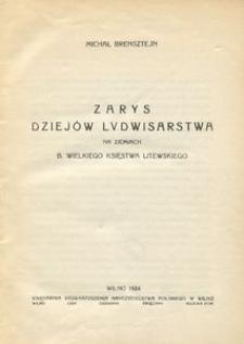 Zarys dziejów ludwisarstwa na ziemiach b. Wielkiego Księstwa Litewskiego