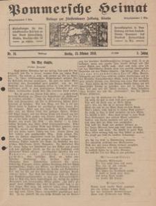 Pommersche Heimat. Beilage zur Fürstentumer Zeitung, Köslin Nr. 10/1916