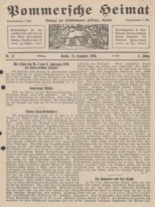 Pommersche Heimat. Beilage zur Fürstentumer Zeitung, Köslin Nr. 12/1916