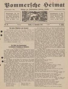 Pommersche Heimat. Beilage zur Fürstentumer Zeitung, Köslin Nr. 10/1917