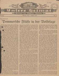 Unsere Heimat. Beilage zur Kösliner Zeitung Nr. 3/1935