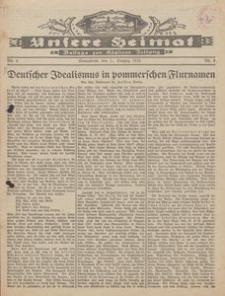 Unsere Heimat. Beilage zur Kösliner Zeitung Nr. 4/1933
