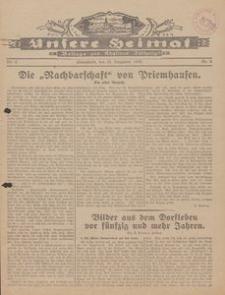 Unsere Heimat. Beilage zur Kösliner Zeitung Nr. 6/1930