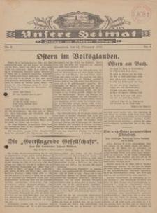 Unsere Heimat. Beilage zur Kösliner Zeitung Nr. 8/1930
