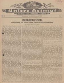 Unsere Heimat. Beilage zur Kösliner Zeitung Nr. 9/1930