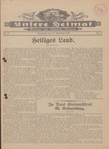 Unsere Heimat. Beilage zur Kösliner Zeitung Nr. 21/1930