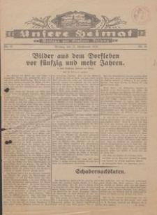 Unsere Heimat. Beilage zur Kösliner Zeitung Nr. 25/1930