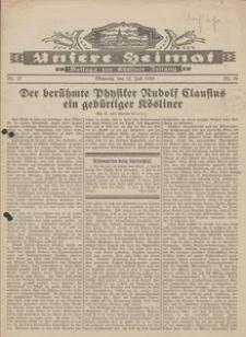 Unsere Heimat. Beilage zur Kösliner Zeitung Nr.10/1933