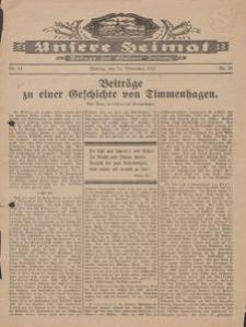 Unsere Heimat. Beilage zur Kösliner Zeitung Nr. 24/1927