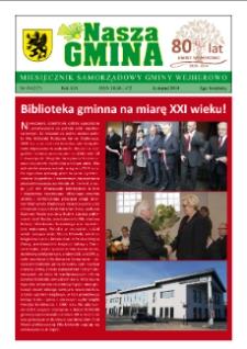 Nasza Gmina. Miesięcznik Samorządowy Gminy Wejherowo, 2014, listopad, Nr 10 (217)