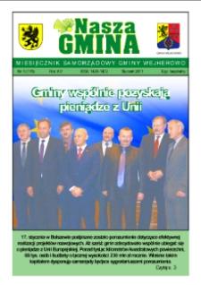 Nasza Gmina. Miesięcznik Samorządowy Gminy Wejherowo, 2011, styczeń, Nr 1 (175)