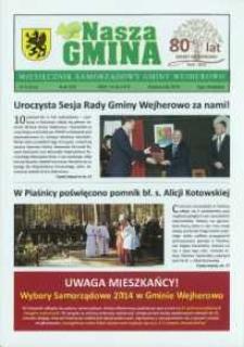 Nasza Gmina. Miesięcznik Samorządowy Gminy Wejherowo, 2014, październik, Nr 9, (216)