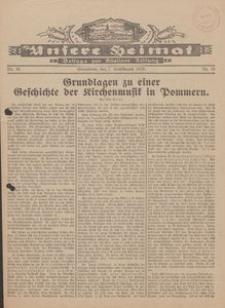 Unsere Heimat. Beilage zur Kösliner Zeitung Nr. 18/1929