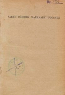 Zarys dziejów marynarki polskiej