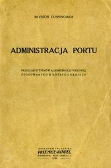 Administracja portu