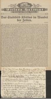 Unsere Heimat. Beilage zur Kösliner Zeitung Nr. 10/1931
