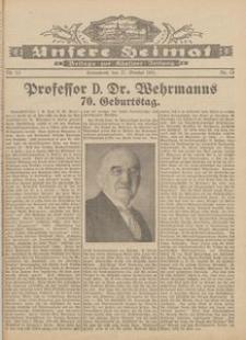Unsere Heimat. Beilage zur Kösliner Zeitung Nr. 13/1931